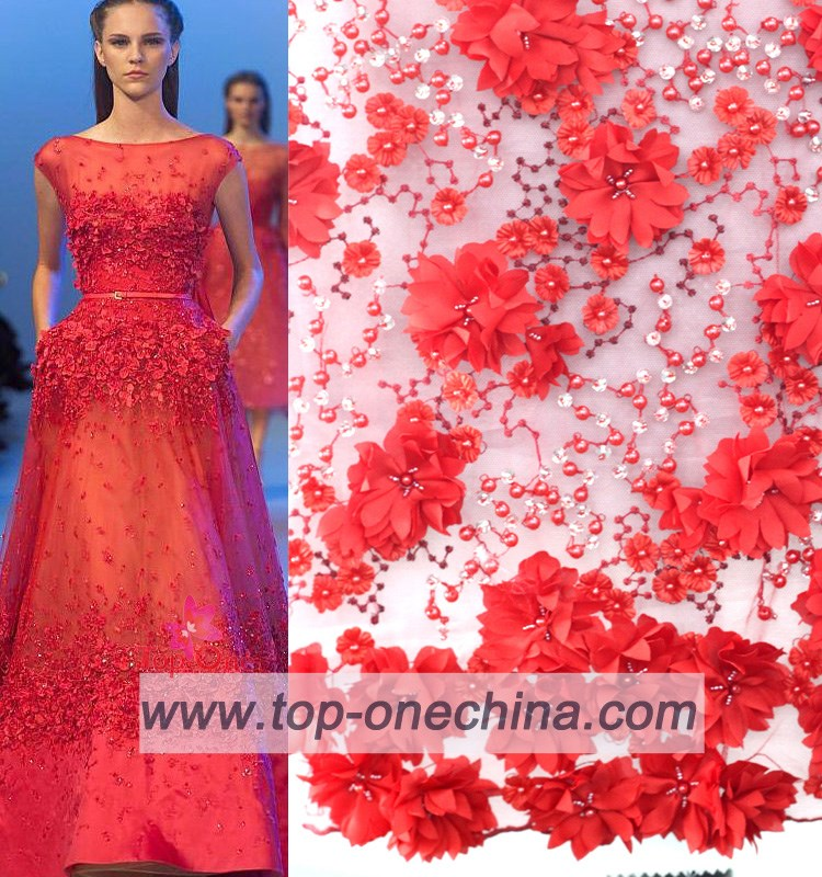 China suppliers handwork embroidery designs beaded lace