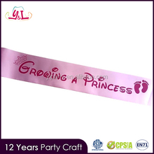 Colorful New Style Bride To Be Sash For Baby Shower Party