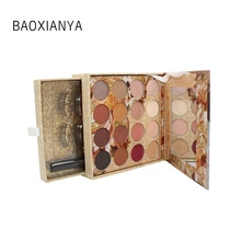 OEM ODM professional waterproof cosmetic matte custom eye shadow palette อายแชโดว์ palette ฉลากส่วนตัว eye shadow