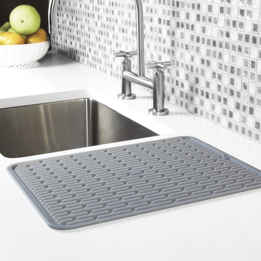 kitchen sink mats rubber sink mats silicone dish drainer - buy