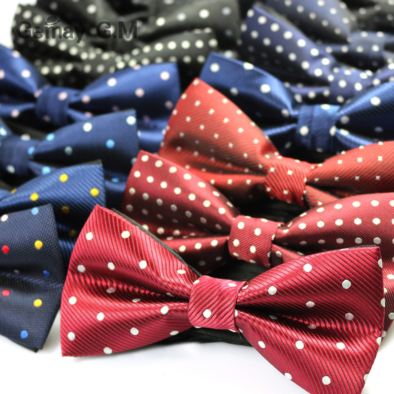 Bow Ties - Bow ties were once the tie of choice for formal events and the standard color was black. This is what was normally worn with a tuxedo. Today, however, bowties can be worn at almost any occasion and they no longer come only in black. Bow ties come in an array of different colors and patterns and it seems for some designers the brighter the better.