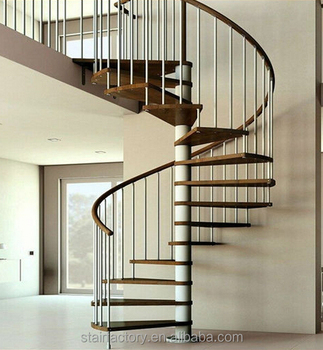 Australia Small Spiral Staircase, Commonly Used Indoor Stairs, Wood Stair  Nosing, TS218