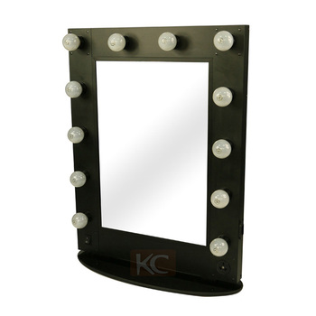 Professional Led Makeup Stand Up Aluminum Mirrorsalon Mirror With