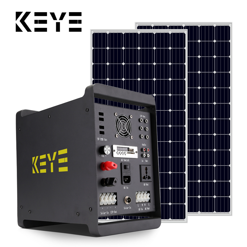 free install complete set 300w off grid generator solar products system 300w for home