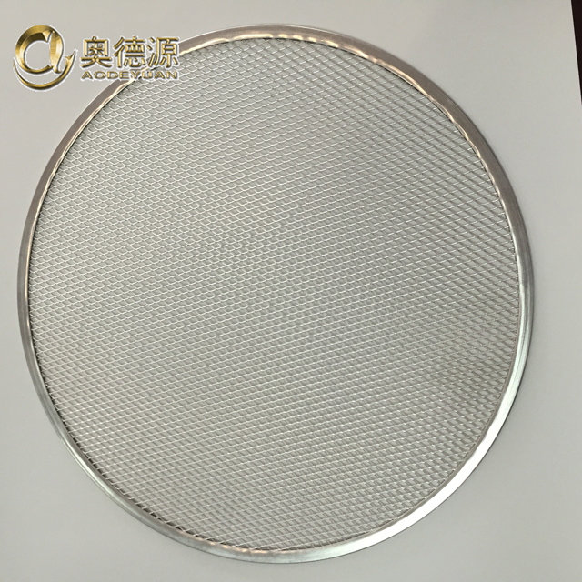 Directly manufacturer supply Aluminum pan / Pizza Screen / Mesh / Tray