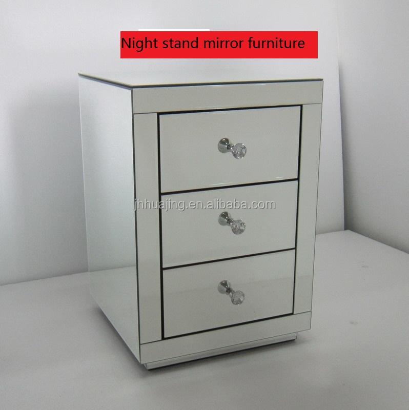 Spiegel The Mirro Nachttisch mit Spiegel 3 Schubladen 3 Schubladen Schlafzimmerm/öbel 3 Schubladen