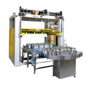 Magnetic Grab Stacking Machine Cans Palletizer for Meat Canned