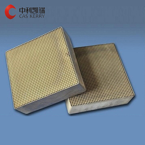 chinese factory honeycomb ceramic catalyst support monolith