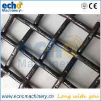 high tensile steel 65Mn quarry / mining / crusher woven wire mesh and screen mesh from Shanghai