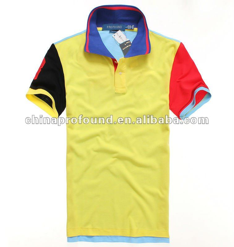 f58ced540 Fashion New Patchwork Multi Colorful Polo T Shirt For Men - Buy  Multicolored Polo Shirts,Polo Shirts,Colorful Polo Shirt Designs Product on  ...