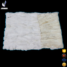 Wholesale Price Scrap Rex Rabbit Fur Pelt Plate / Rex Rabbit Fur Blanket / Rabbit Pelt