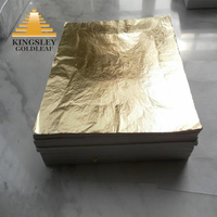 High Quality China Factory Loose Col.2.0 Imitation Gold Leaf With Interpaper