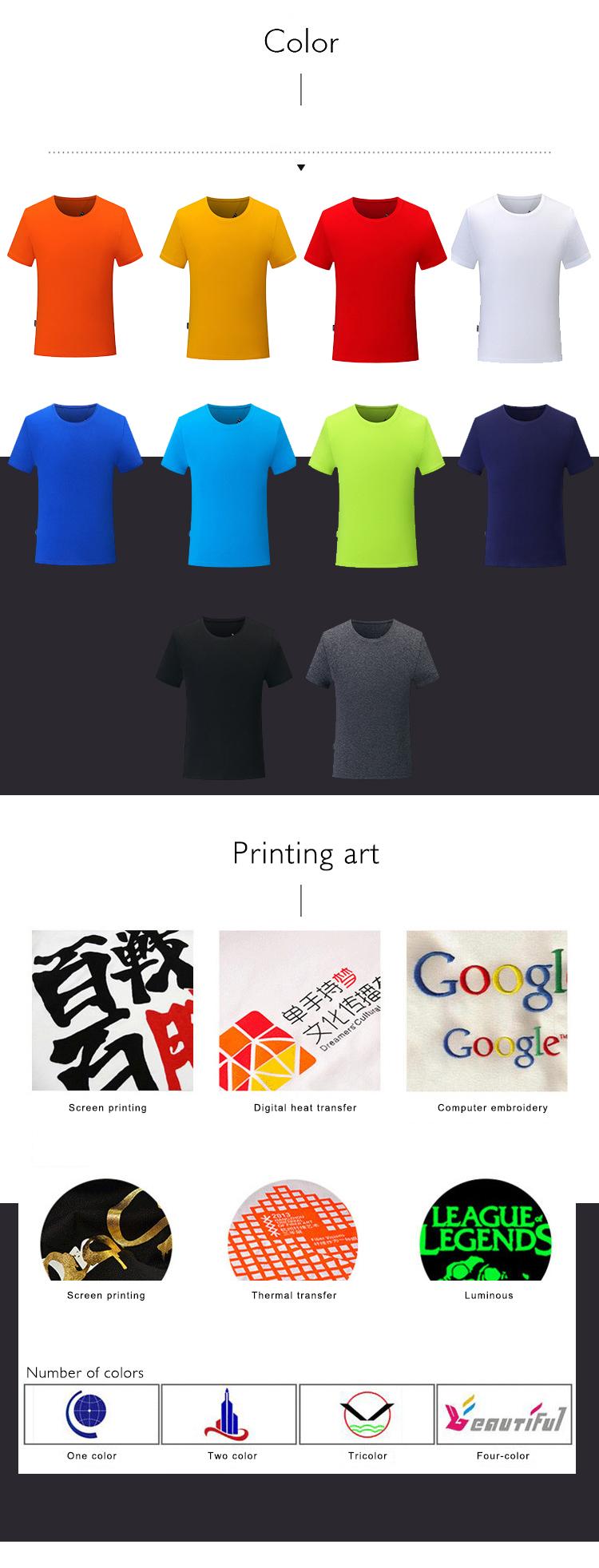 bf4f72027 China Manufacturer 100% Cotton Men T Shirt Custom Printing Promotion V-Neck  Short Sleeve