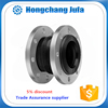 Pipe fittings flange epdm expansion rubber joints