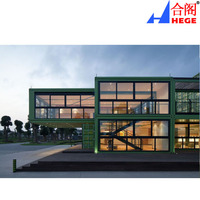 Fasion Design Duplex Cargo Container Prefabricated Office Show Room
