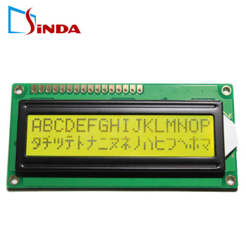 STN Module Character Matrix 2x16 lcd display
