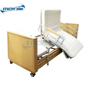 China Quality Assurance Electric Hospital Medical Patient Linak Rotating Home Care Chair Bed for Elderly Nursing