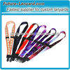 Two safety buckle sublimation printing DIY lanyard for promotion