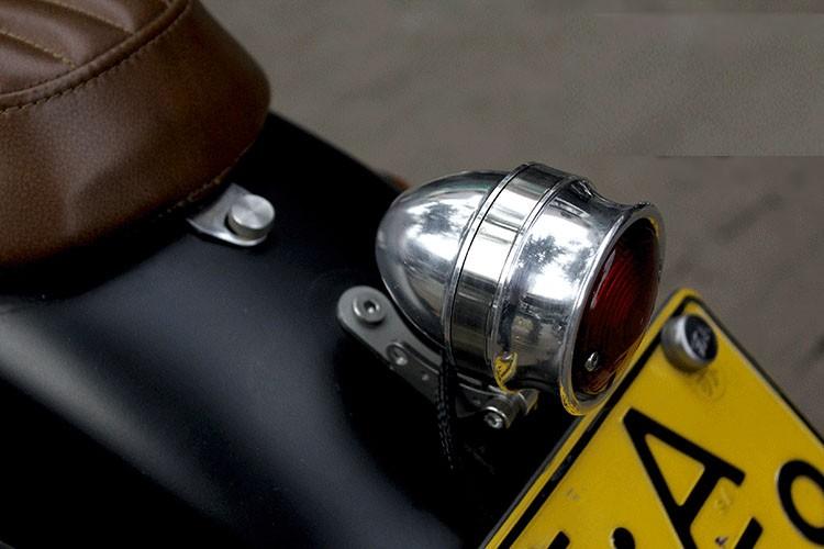 Motorcycle Led Red Rear Brake Stop Light Lamp For Custom Vintage Motorcycle  - Buy Motorcycle Led Red Rear Brake Stop Light Lamp For Custom Vintage