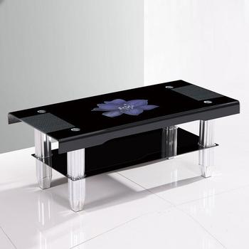 Most Popular Design Modern Bent Glass Teapoy For Indian Market