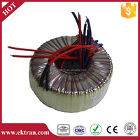 Low mechanical hum transformer