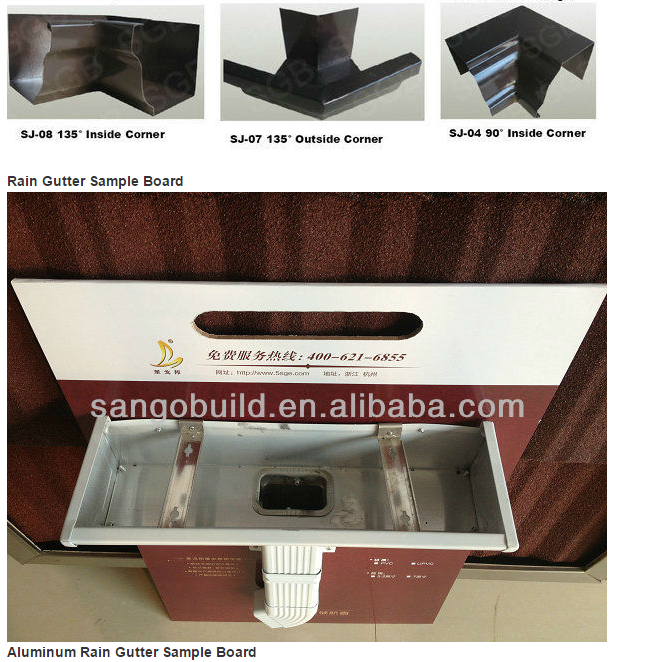 Metal Building Materials Rain Water Collector Materials