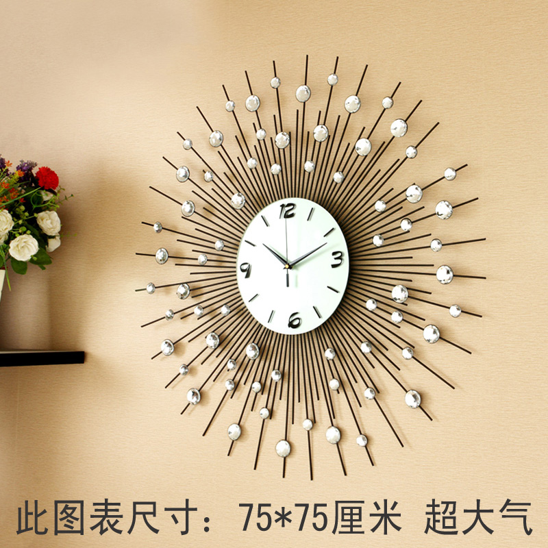 modern living room wall clocks. Black Bedroom Furniture Sets. Home Design Ideas