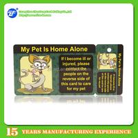 fancy design plastic membership card and tag