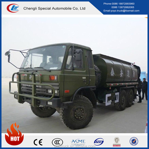 CLW Dongfeng 15 m3 15000L 6x6 off-road Water tank vehicle all wheel drive Water bowser tank Truck with best selling price