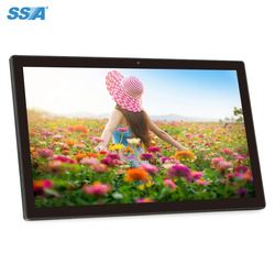 3G Android 4.4 wall mounting Quad-Core CPU 21.5Inch irulu tablet pc
