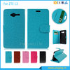 Classic crazy horse grain flip leather case for LG Optimus L3 E400