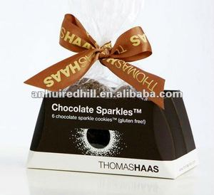 Tie ribbon bows chocolate box