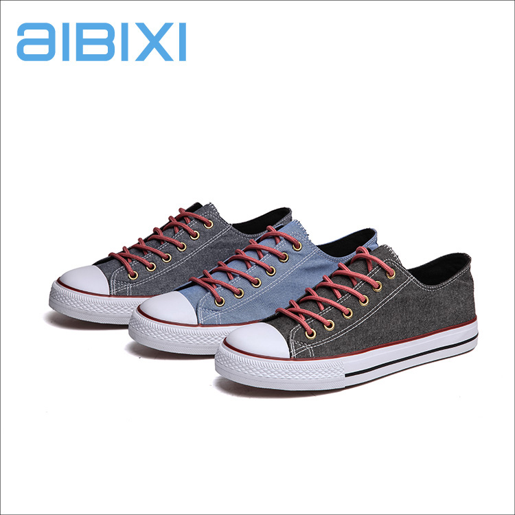 AIBIXI Factory In Malaysia Breathable Non-Slip Fabric Causal Low-Cut Shoes