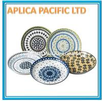 MADE IN JAPAN PORCELAIN CERAMIC DECORATIVE PLATES