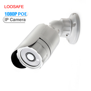 LOOSAFE HD 1080p mini camera 2mp security camera outdoor poe small ip camera