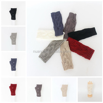 New Hot Sale Hollow Out Knit Pattern Cheap Winter Warm Acrylic ...