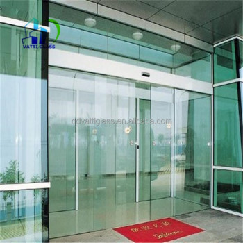 Tempered Glass Sliding Glass Barn Doors Sliding Glass Door Closer Semi Automatic  Sliding Door