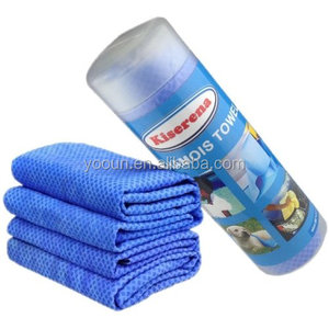 PVA hair drying towel soft and smooth chamois, sport towel