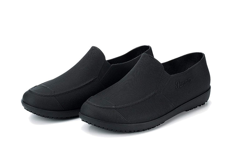 0885a938d0aa Get Quotations · Flyrioc Men s Kitchen Shoes Chef Clogs Anti Slip Working  Shoes Rain Boot Garden Shoes