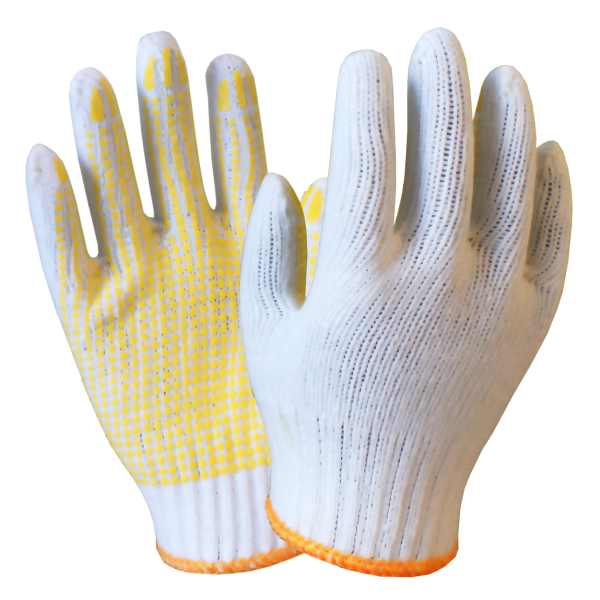Wholesale Workplace Safety Supplies Protective gloves pvc dot