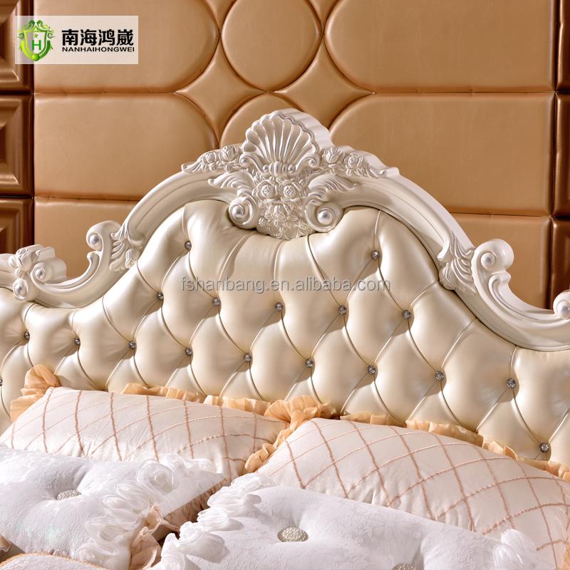 Традиционный Роскошный европейский стиль мебель для спальни Наборы