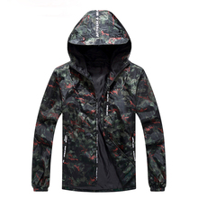 <span class=keywords><strong>A</strong></span> <span class=keywords><strong>buon</strong></span> <span class=keywords><strong>mercato</strong></span> Tutto Nero Pullover Frangivento 100% Poliestere Camouflage Camo Impermeabile Degli Uomini di Sport <span class=keywords><strong>Giacca</strong></span>