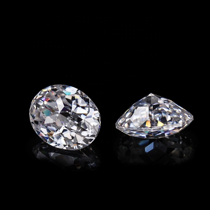 Wholesale Synthetic 15x 6mm moissanite loose <strong>stones</strong> 1mm to 15mm moissanite round melee moissanite cheap gemstone