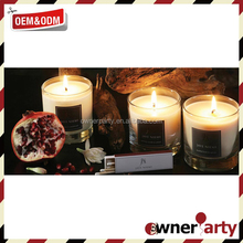 Customized Wholesale Eco Friendly Aromatic Candles