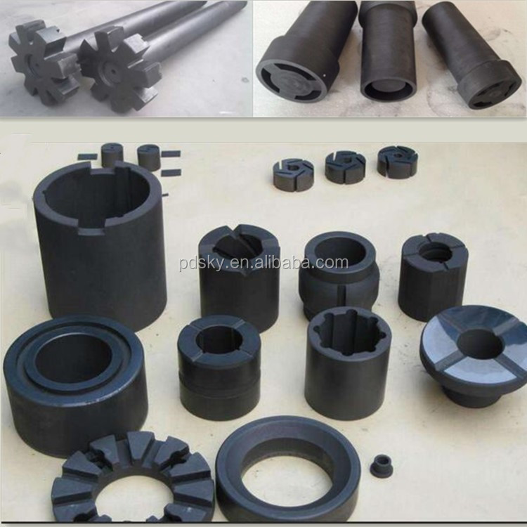 Kaiyuan customizd high purity Carbon graphite seal ring parts for mechanical seal