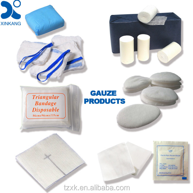 how to use sterile gauze pads