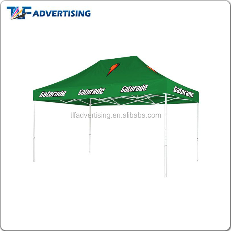 Advertising commercial large portable green canopy gazebo outdoor products tents for sale