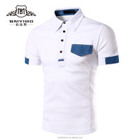 Baiyimo Best Seller Vintage Clothing Mens New Design Polo T Shirt Customized
