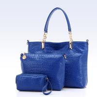 Mulit-function designer shoe and handbag sets for women