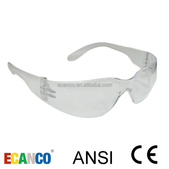 Wholesale Anti Scratch Lens CE EN166 F ANSI Safety Glasses For Work